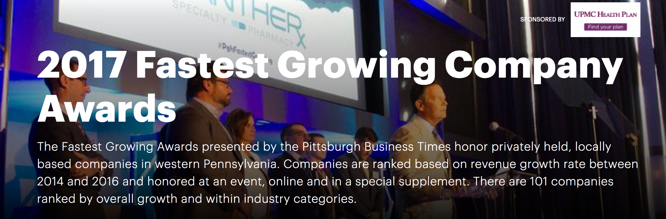 The Wilson Group tenth on fastest-growing companies list in Pittsburgh