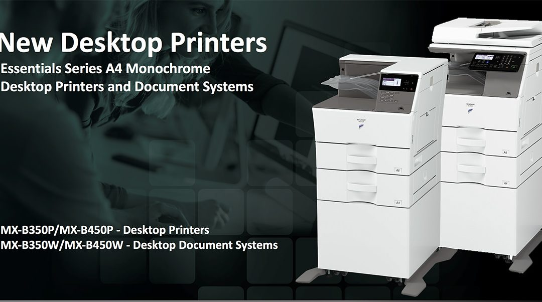 Sharp Expands A4 Monochrome Lineup with Four New Desktop Printer and MFP Models